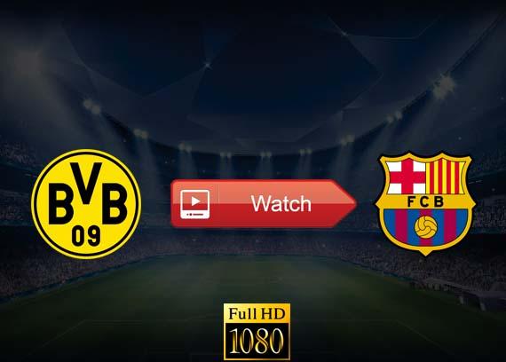 Barcelona vs Borussia Dortmund live stream reddit