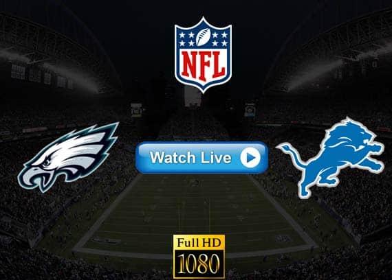 Eagles vs Lions live streaming reddit