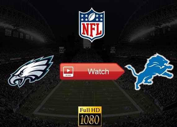 Eagles vs Lions live stream reddit