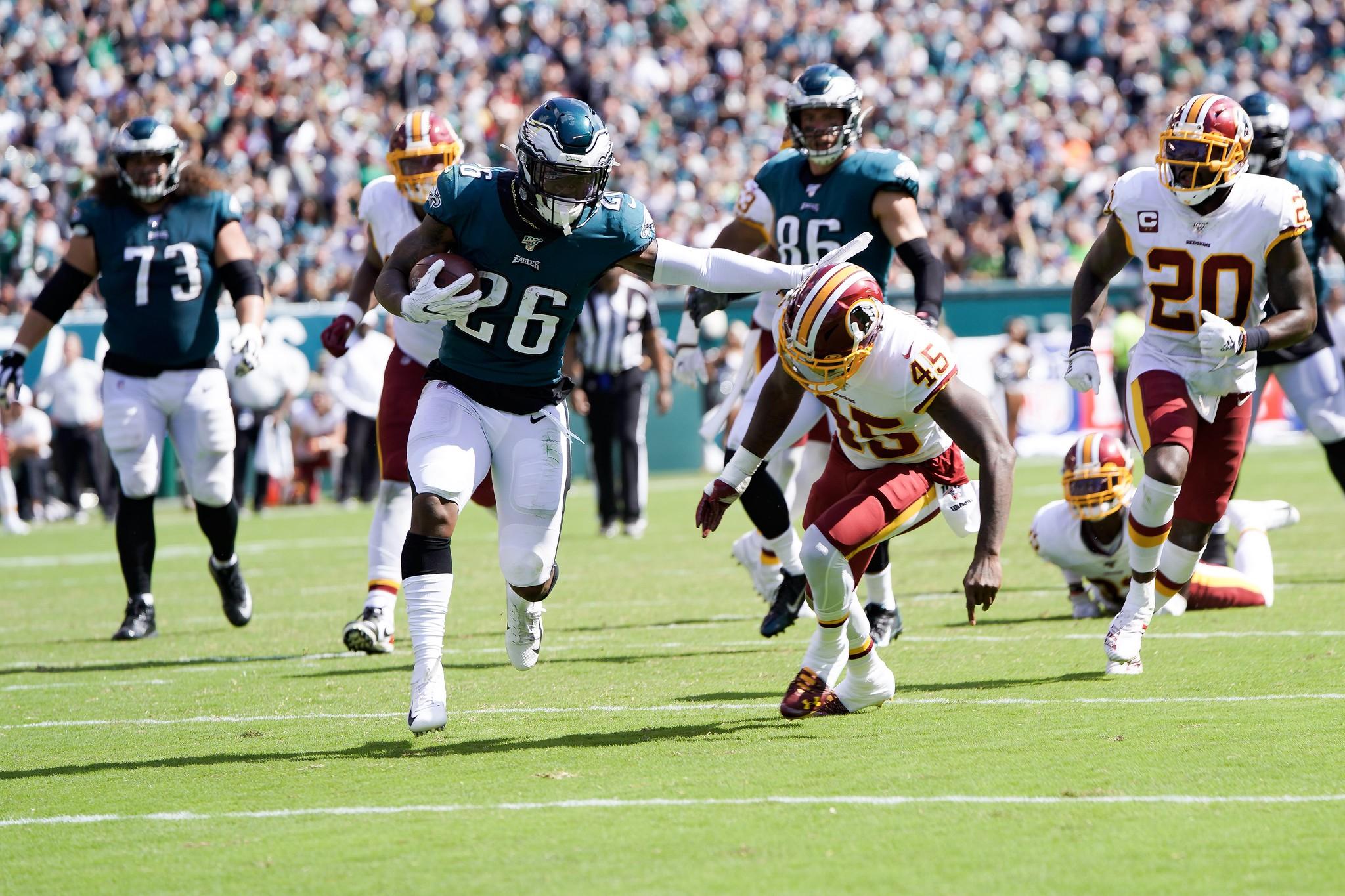 Redskins, Eagles Face Off in Week 1 of 2019 NFL Season 📸