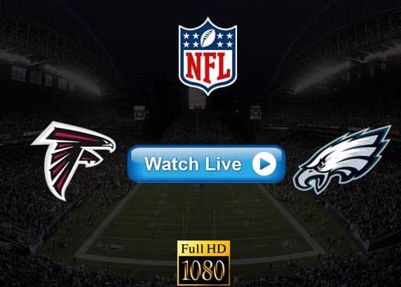 Falcons vs Eagles live streaming reddit