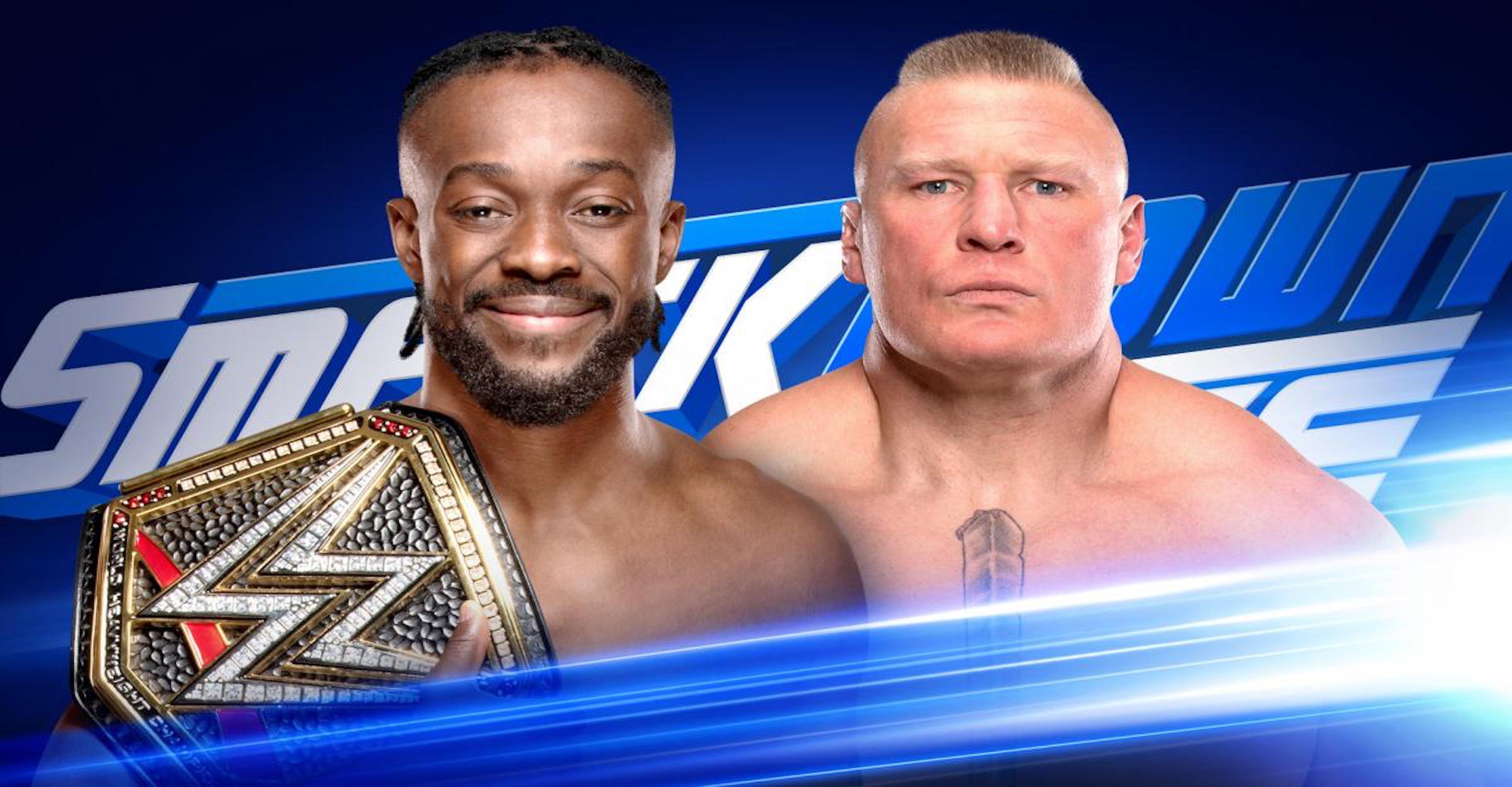 Kofi Kingston To Defend WWE Title Vs. Brock Lesnar On SmackDown FOX Debut