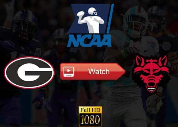 Georgia vs Arkansas State live stream reddit