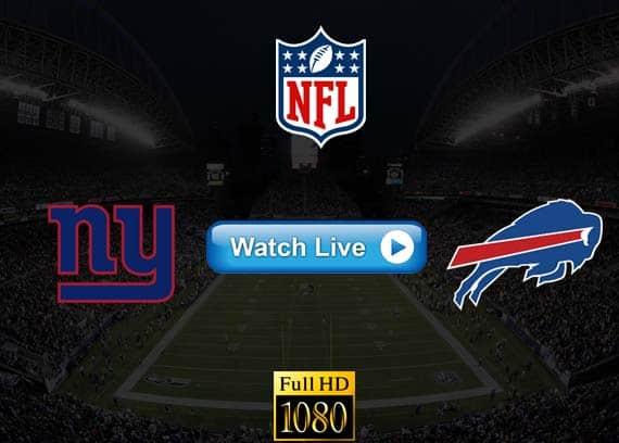 Giants vs Bills live streaming reddit