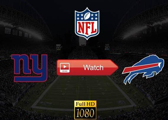 Giants vs Bills live stream reddit