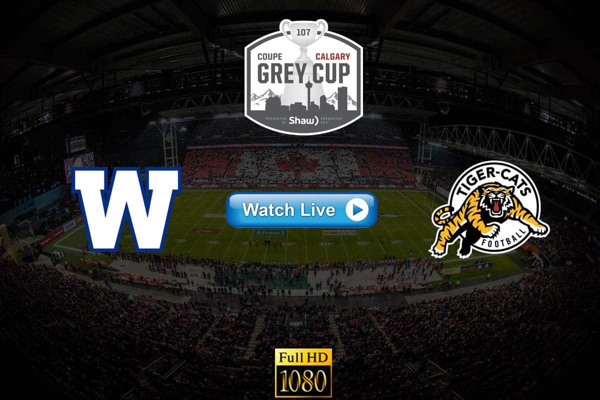 CFL Grey Cup live streaming reddit