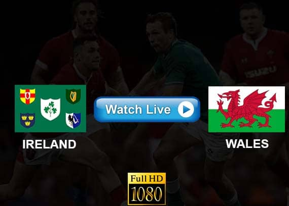 Ireland vs Wales live streaming reddit
