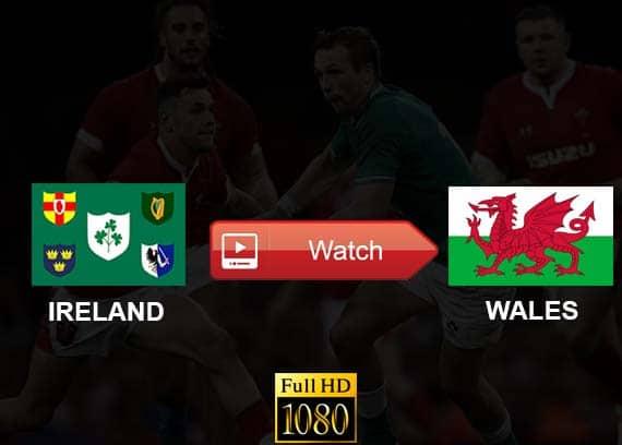 Ireland vs Wales live stream reddit