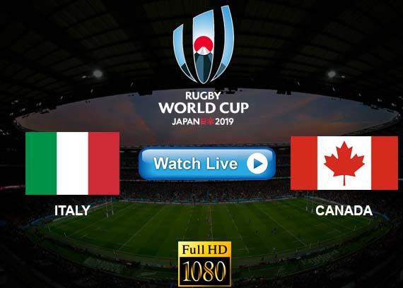 Italy vs Canada live streaming reddit