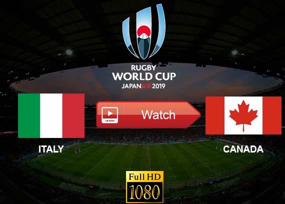 Italy vs Canada live stream reddit