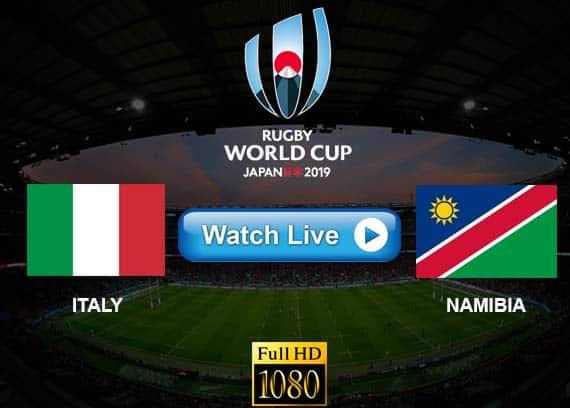 Italy vs Namibia live streaming reddit