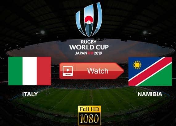 Italy vs Namibia live stream reddit