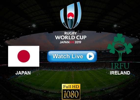 Japan vs Ireland live streaming reddit