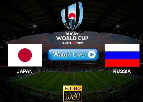 Japan vs Russia live streaming reddit