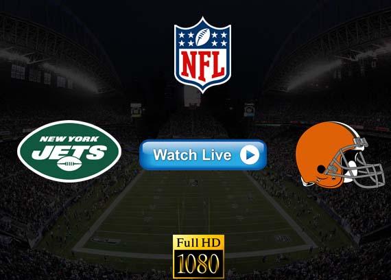 Jets vs Browns live streaming reddit
