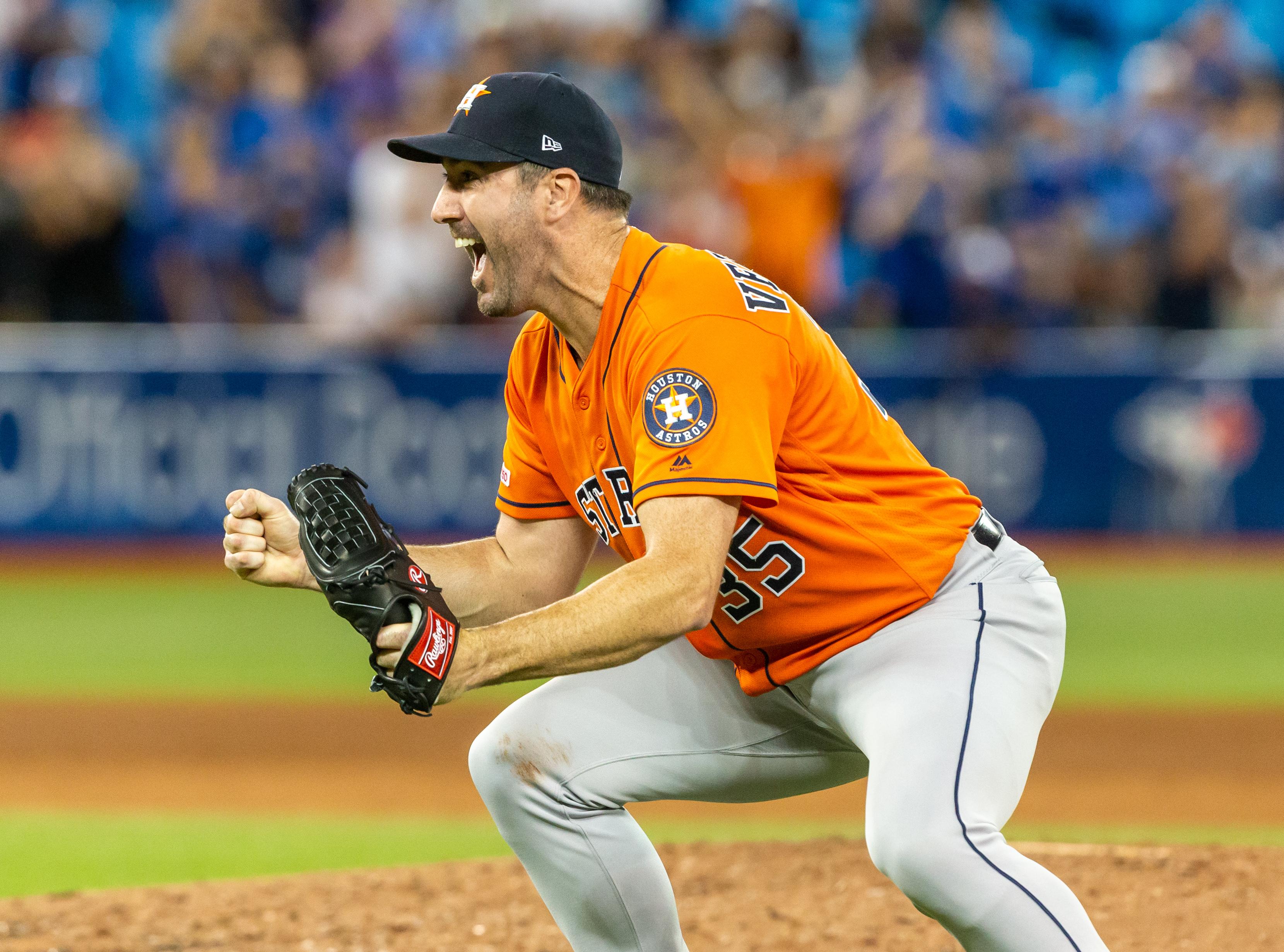 Justin Verlander notches third career no hitter in 2-0 Astros win over Blue Jays
