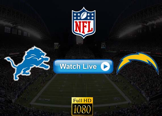 Lions vs Chargers live streaming reddit
