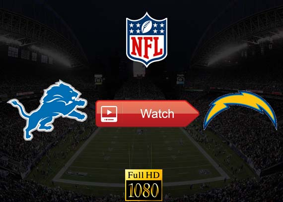 Lions vs Chargers live stream reddit