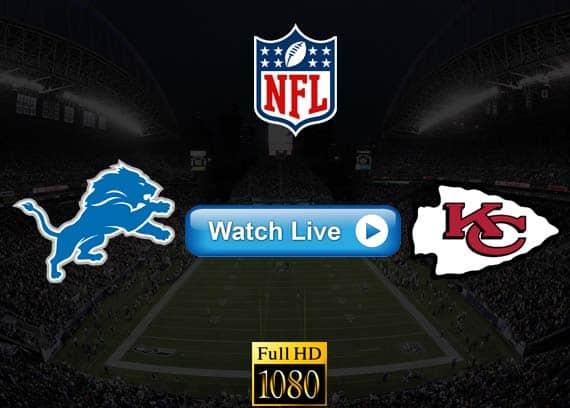 Lions vs Chiefs live streaming reddit