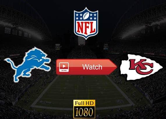 Lions vs Chiefs live stream reddit