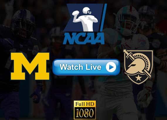 Michigan vs Army live streaming reddit