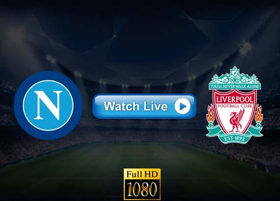 Liverpool vs Napoli live streaming reddit