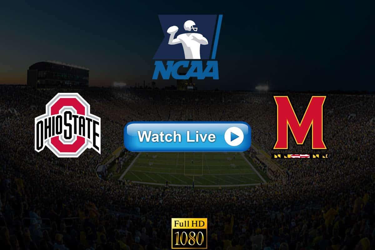 Ohio State vs Maryland live streaming reddit