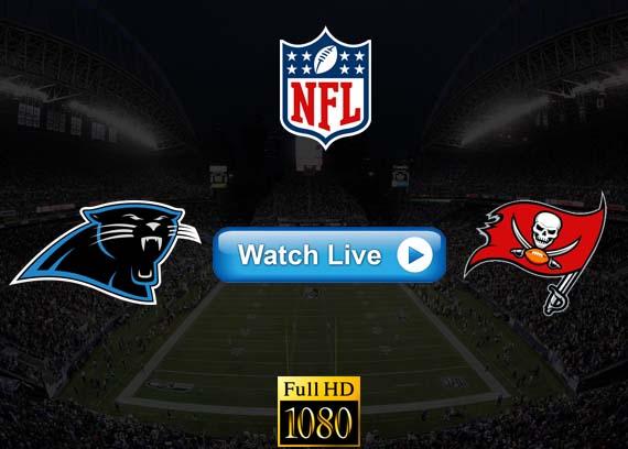 Panthers vs Buccaneers live streaming reddit