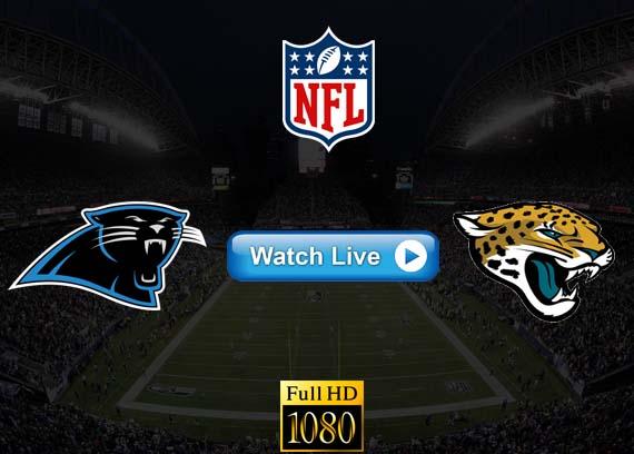 Panthers vs Jaguars live streaming reddit