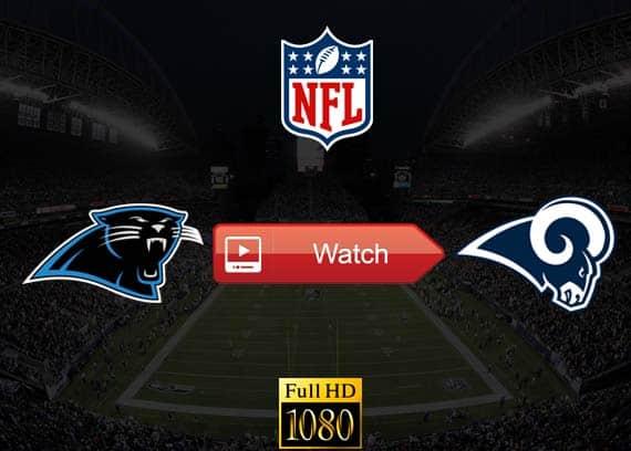 Panthers vs Rams live stream reddit