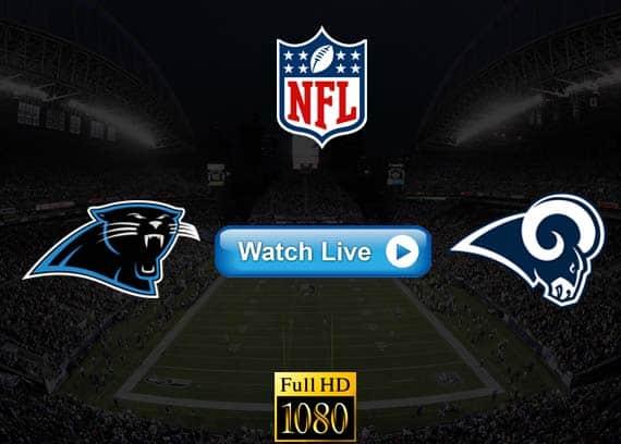 Panthers vs Rams live streaming reddit