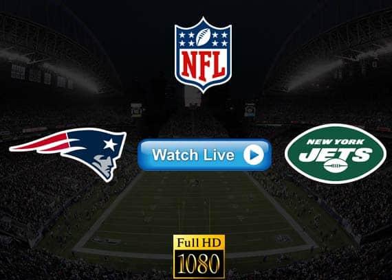 Patriots vs Jets live streaming reddit