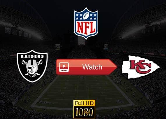 Raiders vs Chiefs live stream reddit