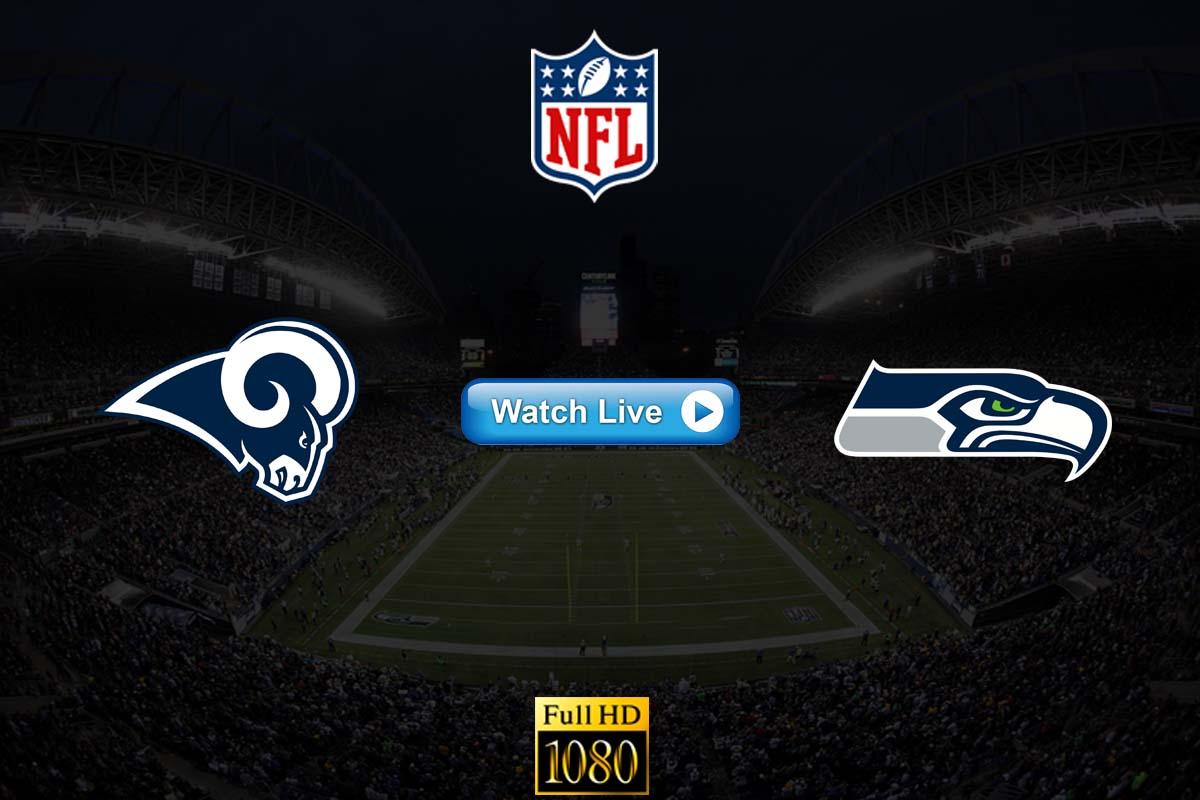 Rams vs Seahawks live streaming reddit