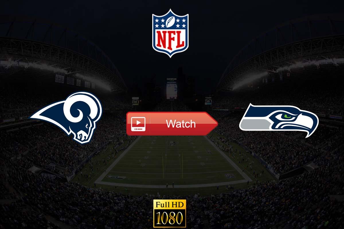 Rams vs Seahawks live stream reddit
