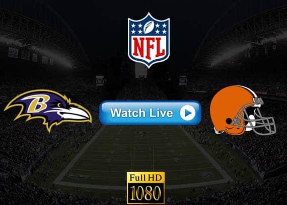 Ravens vs Browns live streaming reddit