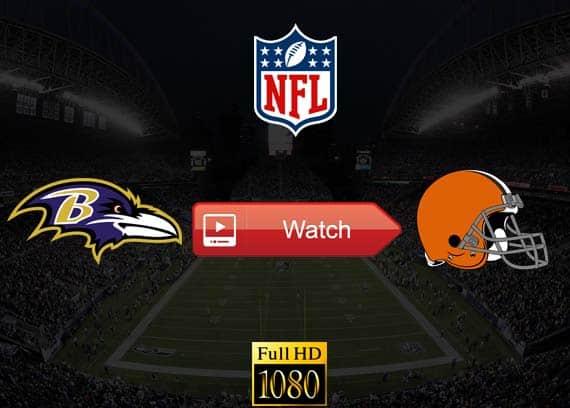 Ravens vs Browns live stream reddit
