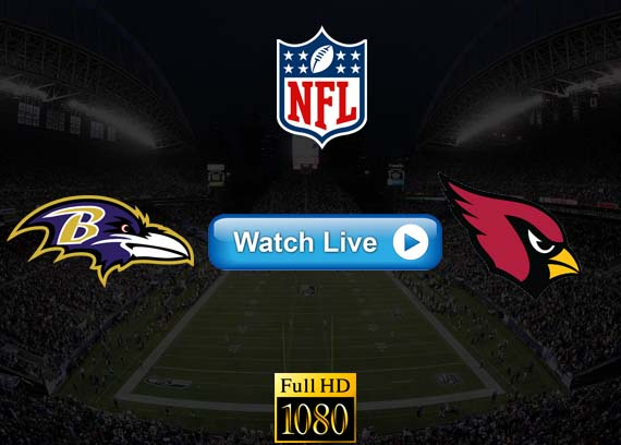 Ravens vs Cardinals live streaming reddit