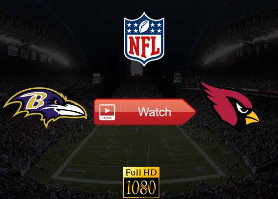 Ravens vs Cardinals live stream reddit