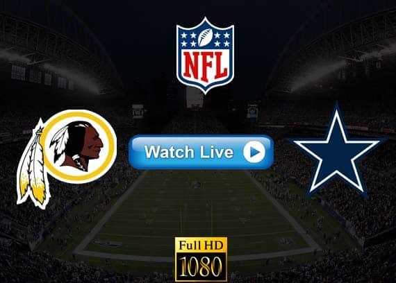 Redskins vs Cowboys live streaming reddit