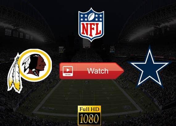 Redskins vs Cowboys live stream reddit