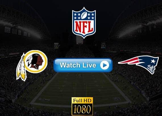 Redskins vs Patriots live streaming reddit