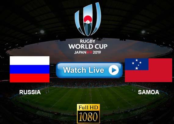 Russia vs Samoa live streaming reddit