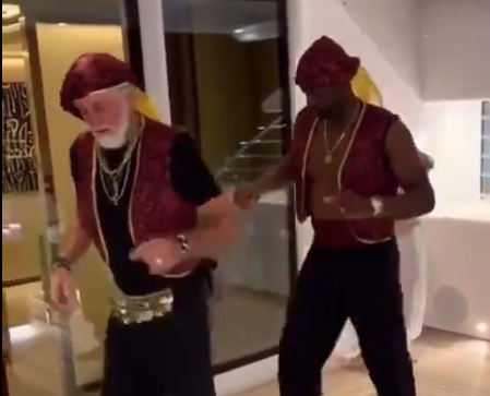 Watch: Pat Riley, Dwyane Wade do awesome dance routine to The Doobie Brothers