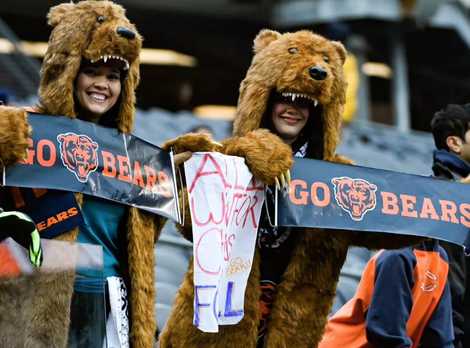 Bears fans boo Mitchell Trubisky, team over offensive woes