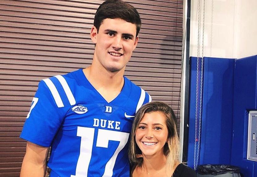 Look: Daniel Jones' stunning new girlfriend is Giants QB's good-luck charm