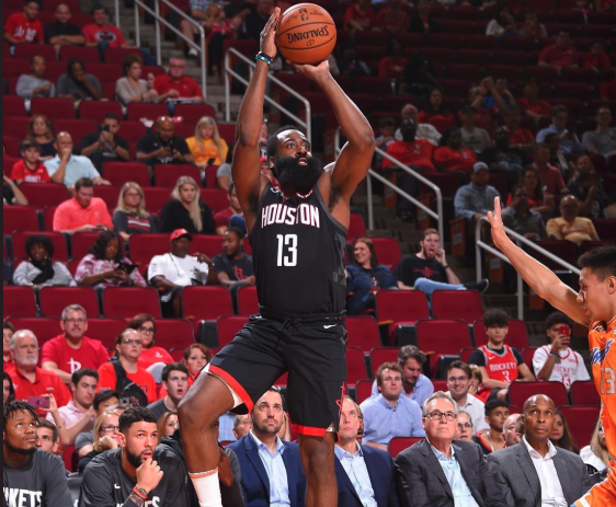 James Harden finally shows off new one-footed shot in game (Video)