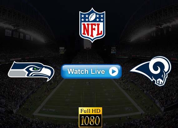 Seahawks vs Rams live streaming reddit