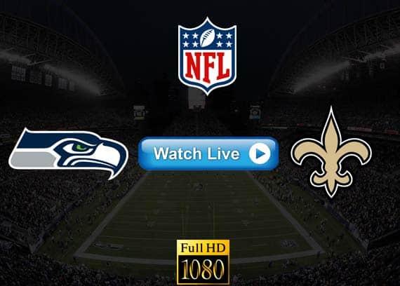 Seahawks vs Saints live streaming reddit