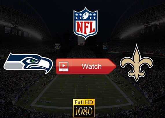 Seahawks vs Saints live stream reddit